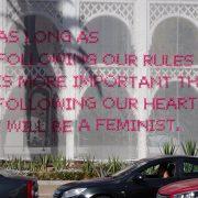 Activistisch feminisme in Rabat