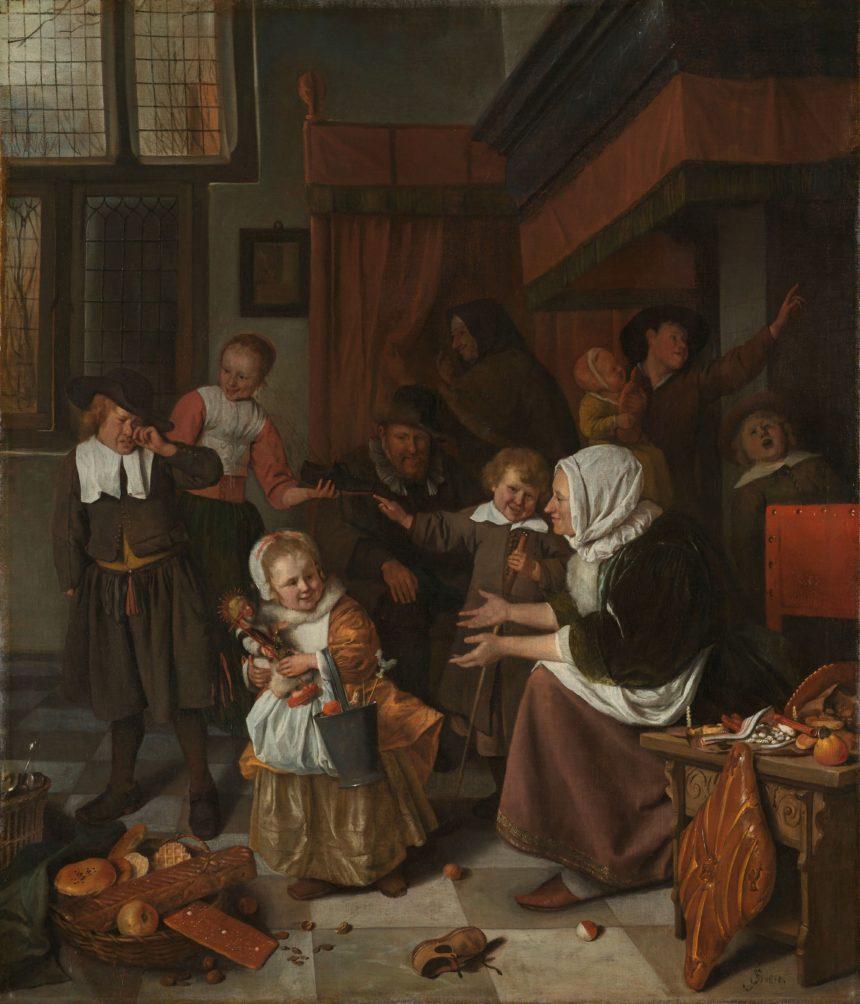 Sinterklaas volgens Steen