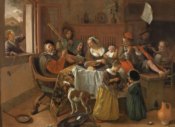 Online lezing: Het huishouden van Jan Steen