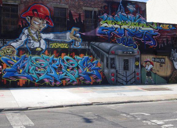 Graffiti en street art